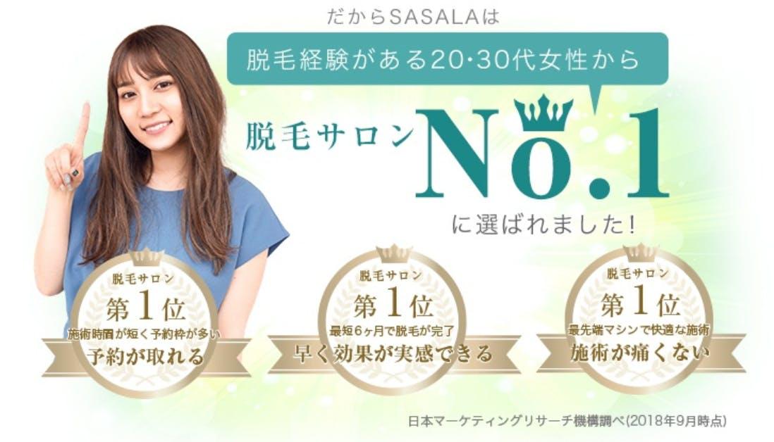 SASALA(ササラ)の期間限定キャンペーンを解説!